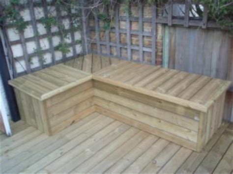 corner deck bench 25 best ideas about deck storage bench on pinterest