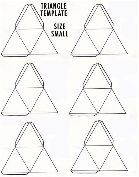 How To Make A Triangle Out Of Paper - diy 3d geometric sculpture make