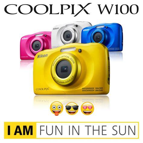 Kamera Nikon W100 nikon coolpix w100 kamera pink de kamera