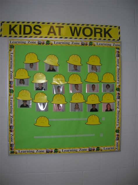 construction theme classroom decorations construction themed classrooms clutter free classroom