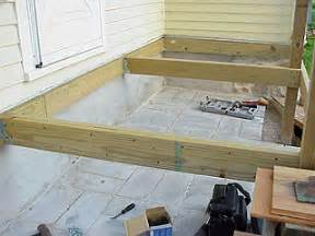 How To Install Newel Post And Handrail Porch Floor Framing How To Lay Out And Install Deck