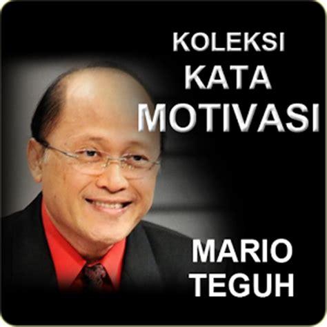 kata kata motivasi hidup sukses mario teguh terbaik kata