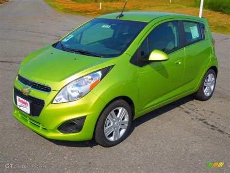jalapeno green 2013 chevrolet spark lt exterior photo 71331534 gtcarlot