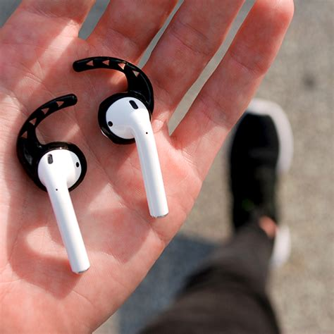 earhoox 2 0 for apple earpods airpods white