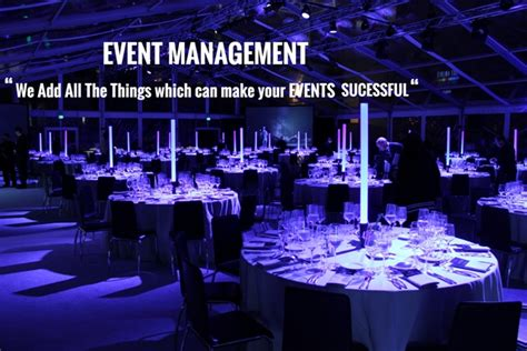 Event Organizer most influential event management company make your