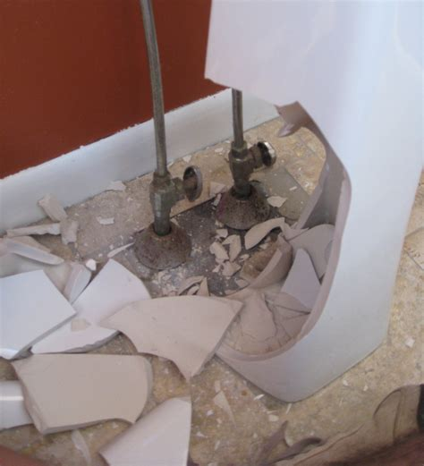 how to remove a pedestal sink powder room remodel phase 1 removing the existing