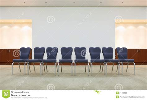 comfortable waiting room chairs row of comfortable chairs in waiting room royalty free