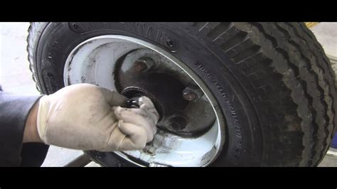 Grease Review And Trailer by How To Grease Pack Trailer Wheel Bearings Trailer In A