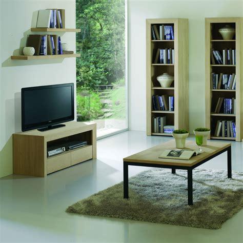 Meuble Tv Design Bois by Meuble Tv Design En Bois Brin D Ouest