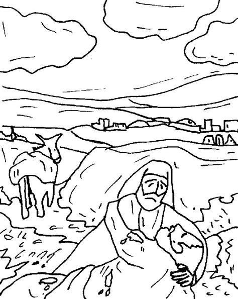 the good samaritan coloring pages az coloring pages the good samaritan coloring pages az coloring pages