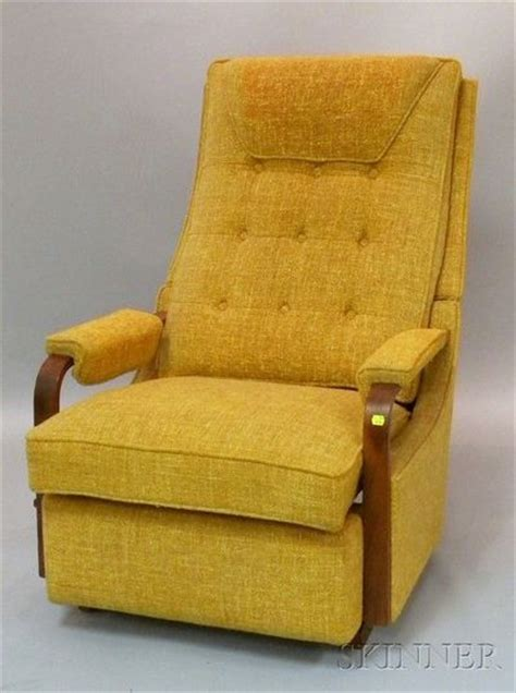 mid century vintage lazy boy rocker recliner mad