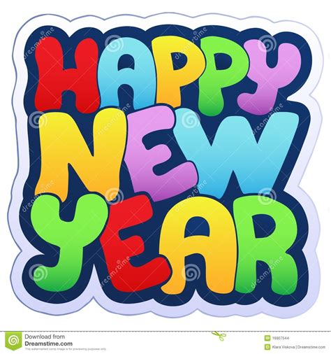 new year year signs happy new year sign stock images image 16907544