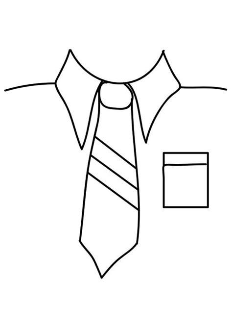Camisa Y Corbata Para Colorear | dibujo para colorear camisa con corbata img 29289