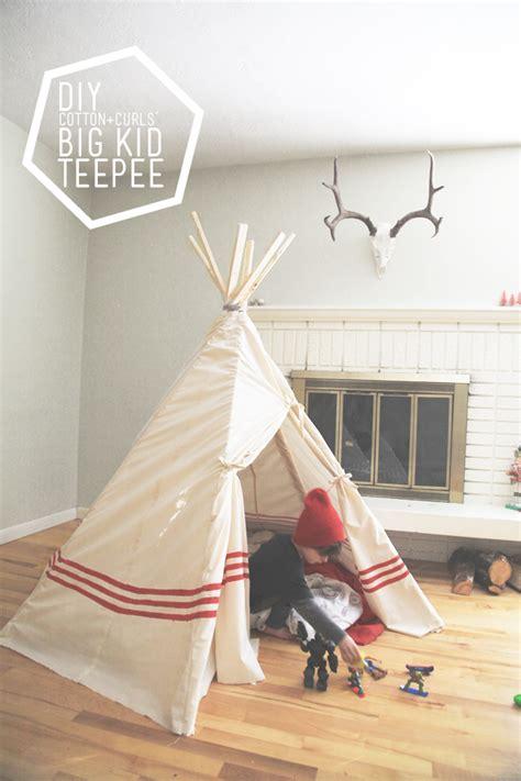 teepee diy diy big kid teepee a 22 project on the 7th day of tutorials