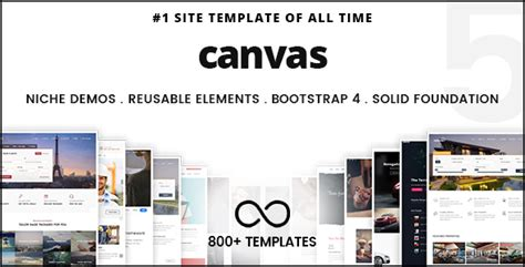 Canvas The Multi Purpose Html5 Template By Semicolonweb Themeforest Canva Website Template