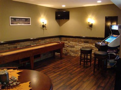 wall home decor ideas basement stacked stone wall decorating ideas basement masters