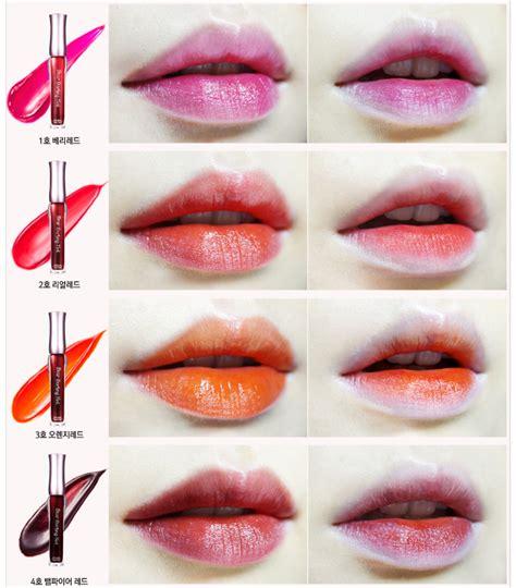 Etude Dear Tint Box New Lip Stain Dear Tint Lip Stain 4color Korean