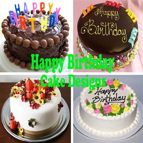 happy birthday design cake images happy birthday cake designs android apps on google play