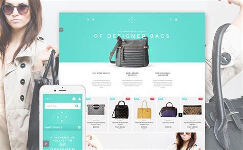 shopify boutique themes handbags shopify theme