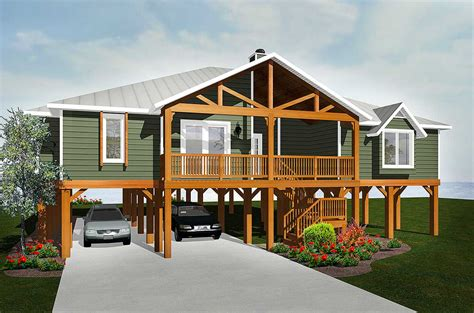 elevated living vl architectural designs house plans