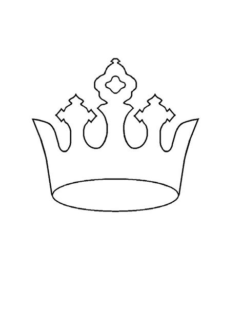 tiara template 45 free paper crown templates template lab