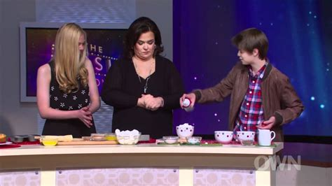 Rosie Shows Again by Fanning Colin Ford On The Rosie Show 8th December