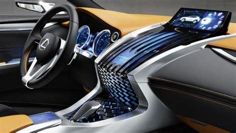 lexus lf nx interior lexus lf nx advances human machine interaction lexus