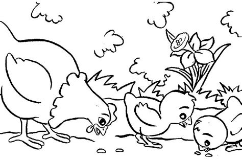 Animals Coloring Pages Printable free printable farm animal coloring pages for