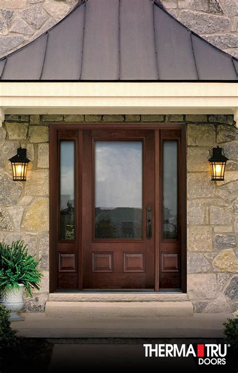 therma tru door locks doors therma tru doors home depot