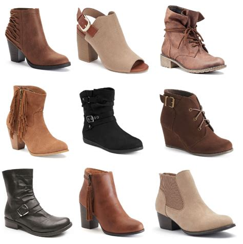 kohls boots kohl s black friday s shoes boots as low as 11 99
