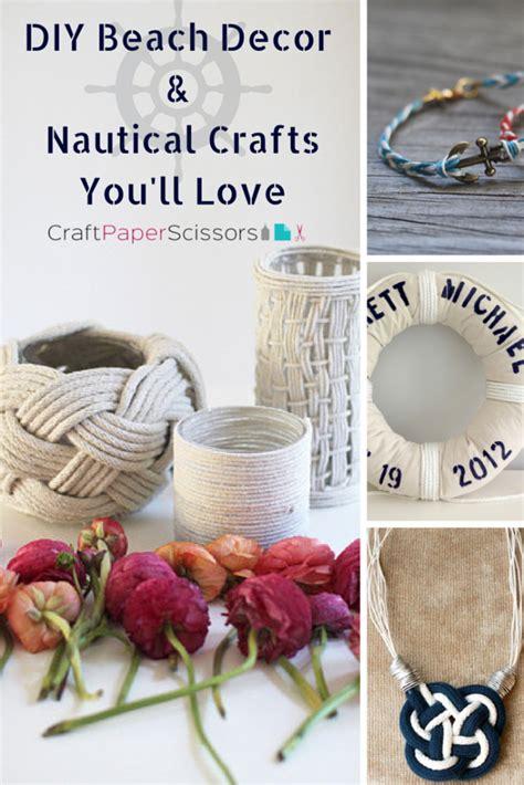 nautical craft projects need vitamin sea diy decor nautical crafts you ll
