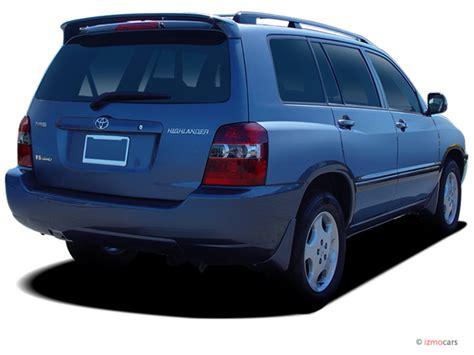 image  toyota highlander  door  wd limited wrd row natl angular rear exterior view