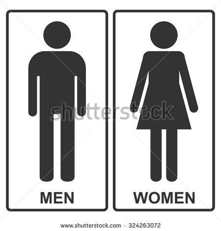 man and woman bathroom sign washroom stock images royalty free images vectors