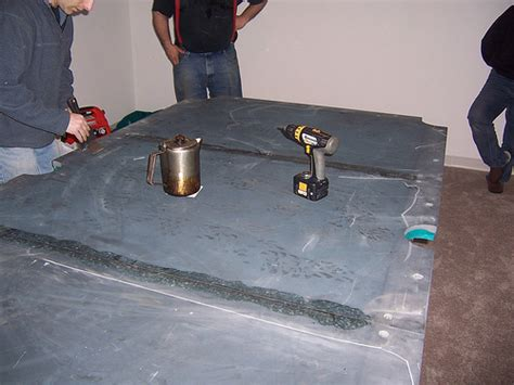 3 slate pool table joining 3 pool table slate pieces