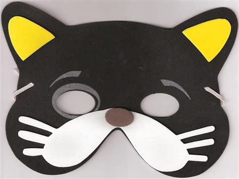 How To Make A Cat Mask Out Of Paper - i easy december 2011 mask