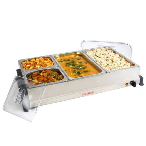 heated buffet servers food warmer buffet server in india clearline