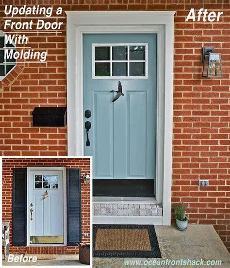 How To Trim Exterior Door Best 25 Exterior Door Trim Ideas On Pinterest