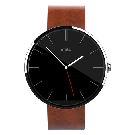 motorola moto 360 bluetooth 46mm backlit lcd water resistant smartwatch ebay