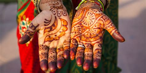 henna tattoo in indian culture what henna is and where these beautiful tattoos