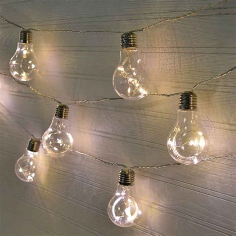 vintage led patio string lights 28 ft clear wire