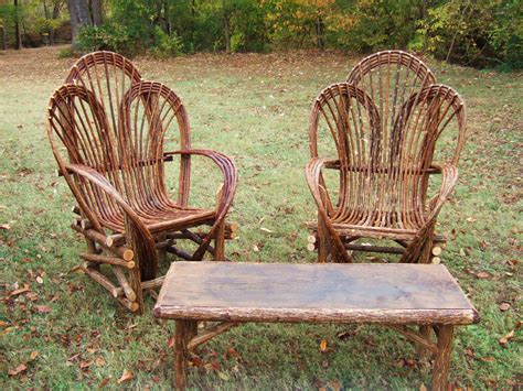 Tree Furniture by Lewis And Associates Willow Tree Branch Patio
