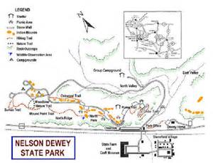Wyalusing State Park Map by My Wisconsin Space 187 Maps