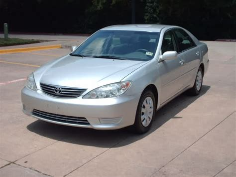 2005 silver toyota camry 2005 toyota camry le allpower auto silver 4cyl
