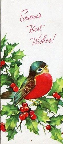 christmas welcome birds 1000 images about i on vintage cards vintage and