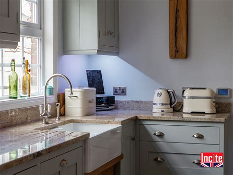 Handmade Kitchens Derbyshire - incite interiors made kitchen furniture for your home