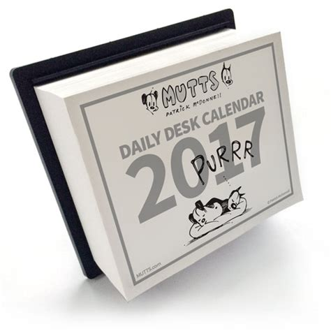 daily desk calendar 2017 now in stock 2017 mutts wall and desk calendars mutts news