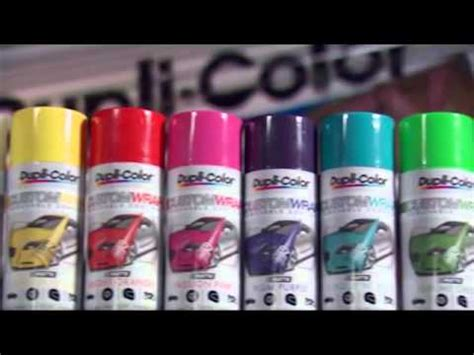 custom color spray paint dupli color custom wrap metallics