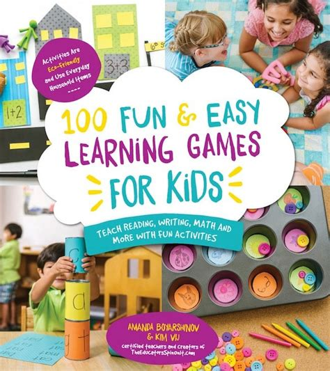 fun learning activities for 1845908929 100 fun and easy learning games for kids