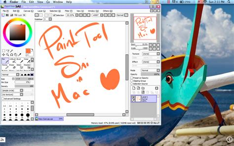 paint tool sai version free mac paint tool sai in mac by osukakun on deviantart