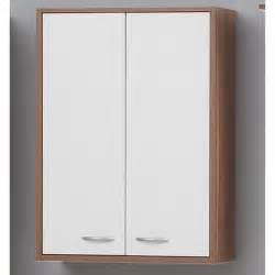 Madrid4 Bathroom Wall Cabinet In Plumtree And White With 2